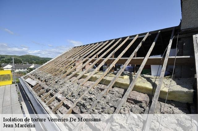 Isolation de toiture  verreries-de-moussans-34220